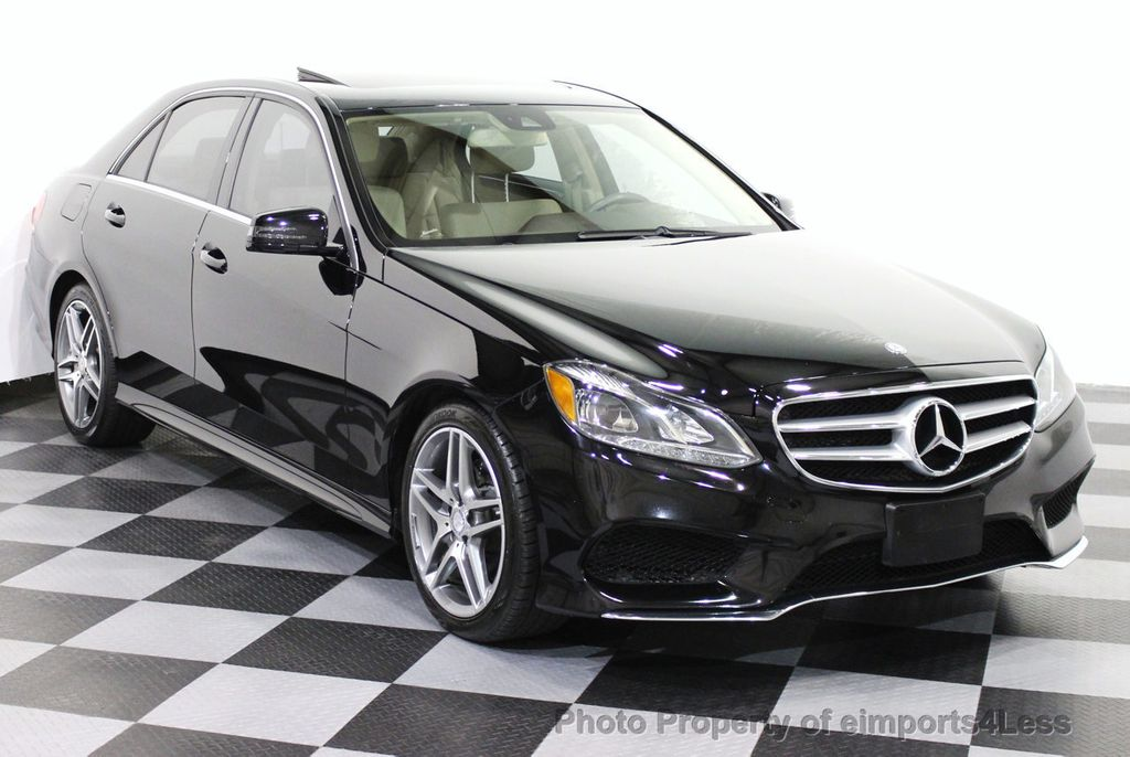 2014 used mercedes benz certified e350 4matic amg sport awd blind spot navigation at. Black Bedroom Furniture Sets. Home Design Ideas