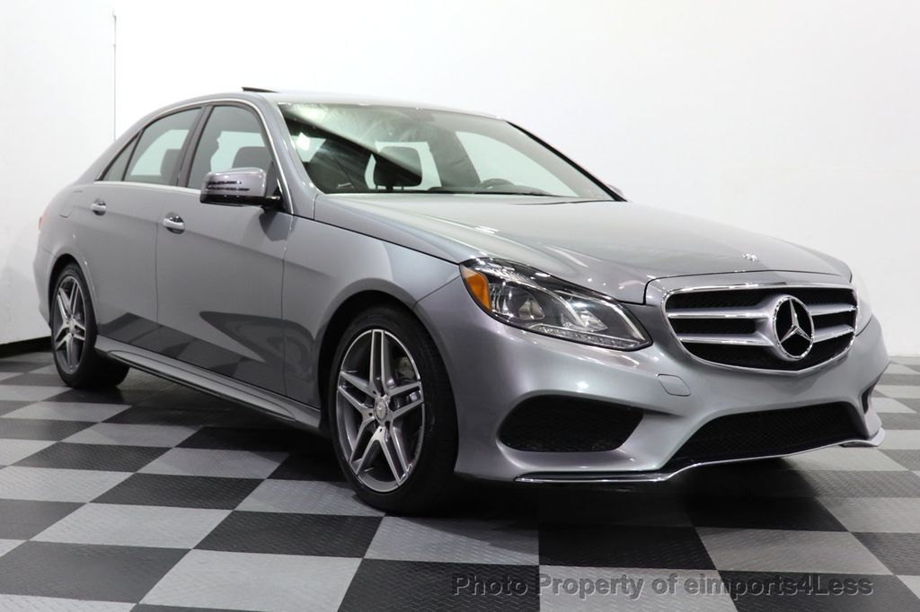 2014 Mercedes-Benz E-Class CERTIFIED E350 4Matic AMG Sport AWD CAMERA NAVI - 18398378 - 1