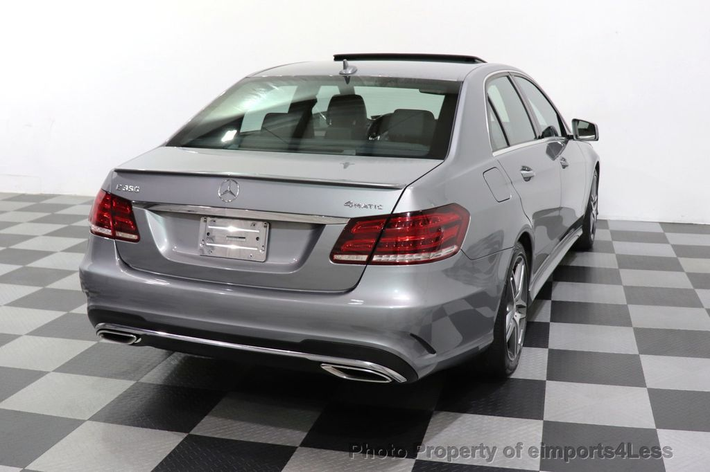 2014 Mercedes-Benz E-Class CERTIFIED E350 4Matic AMG Sport AWD CAMERA NAVI - 18398378 - 31