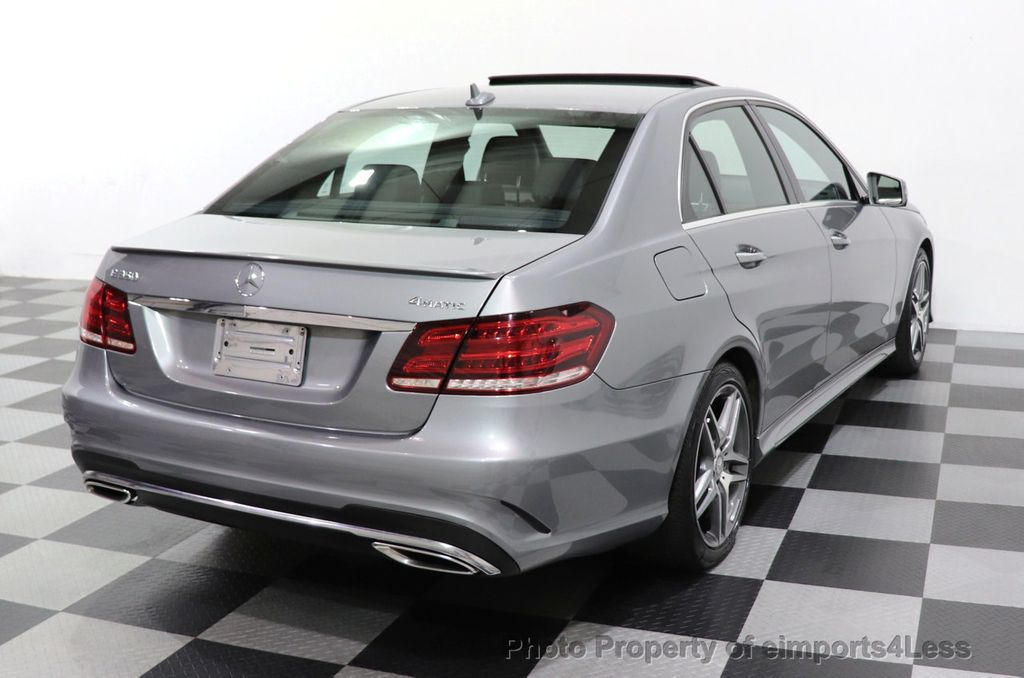 2014 Mercedes-Benz E-Class CERTIFIED E350 4Matic AMG Sport AWD CAMERA NAVI - 18398378 - 46
