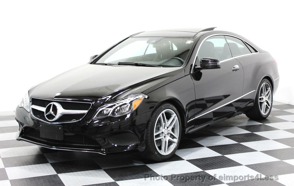 2014 used mercedes-benz certified e350 4matic amg sport awd coupe at
