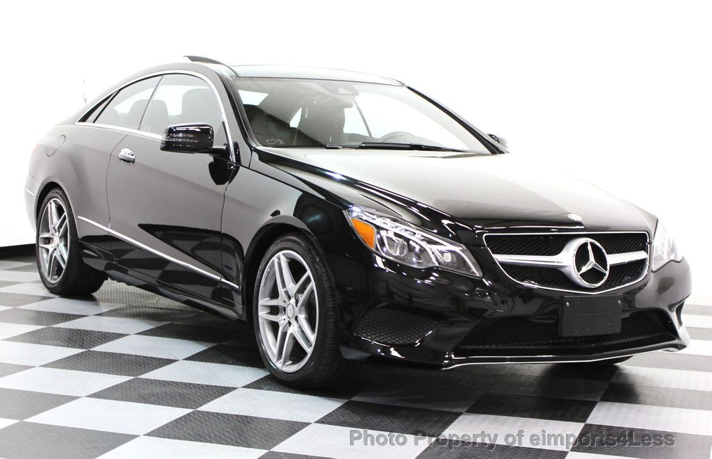 2014 Mercedes-Benz E-Class CERTIFIED E350 4Matic AMG Sport AWD Coupe - 16369459 - 13