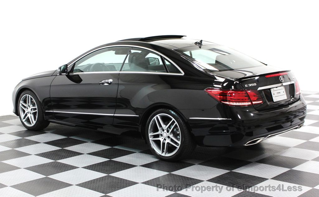 2014 Mercedes-Benz E-Class CERTIFIED E350 4Matic AMG Sport AWD Coupe - 16369459 - 15
