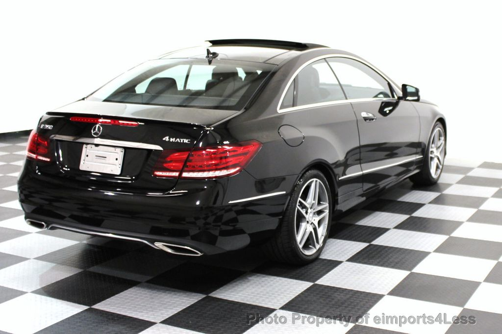 2014 Mercedes-Benz E-Class CERTIFIED E350 4Matic AMG Sport AWD Coupe - 16369459 - 18