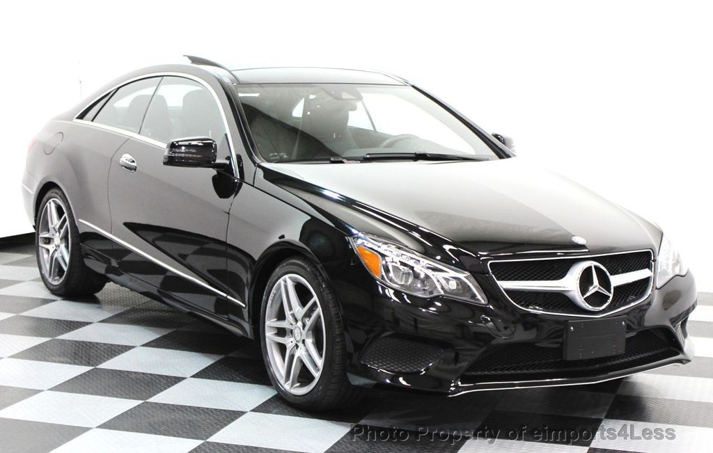 2014 Mercedes-Benz E-Class CERTIFIED E350 4Matic AMG Sport AWD Coupe - 16369459 - 1
