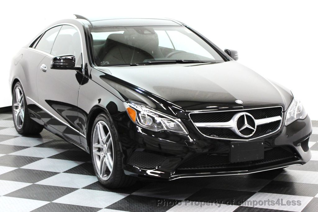 2014 Mercedes-Benz E-Class CERTIFIED E350 4Matic AMG Sport AWD Coupe - 16369459 - 24