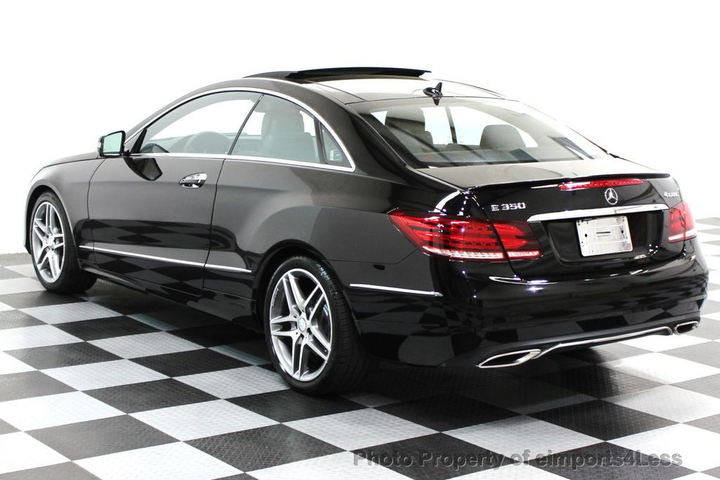 2014 Mercedes-Benz E-Class CERTIFIED E350 4Matic AMG Sport AWD Coupe - 16369459 - 25