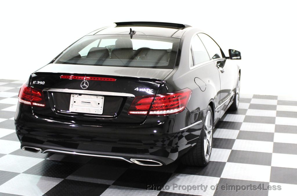 2014 Mercedes-Benz E-Class CERTIFIED E350 4Matic AMG Sport AWD Coupe - 16369459 - 27