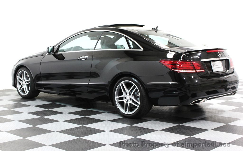 2014 Mercedes-Benz E-Class CERTIFIED E350 4Matic AMG Sport AWD Coupe - 16369459 - 2
