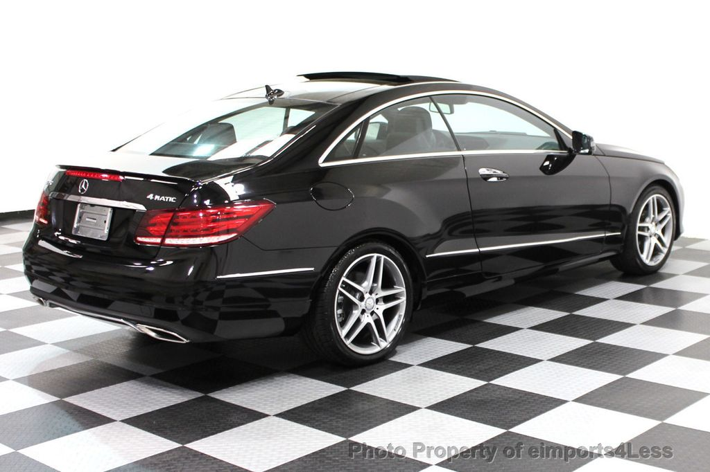 2014 Mercedes-Benz E-Class CERTIFIED E350 4Matic AMG Sport AWD Coupe - 16369459 - 3