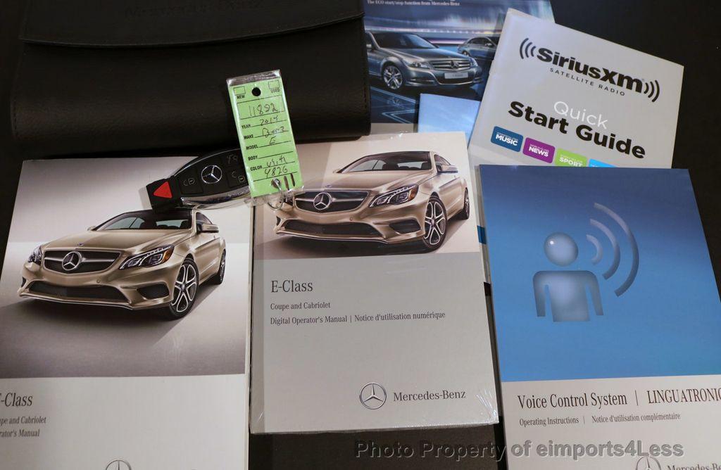 2014 Mercedes-Benz E-Class CERTIFIED E350 AMG Sport Package BLIND SPOT hk NAV - 17179687 - 36