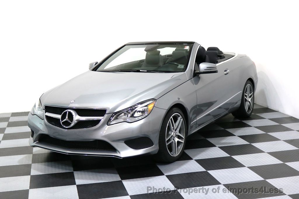 2014 Mercedes-Benz E-Class CERTIFIED E350 AMG Sport Package Convertible - 17334090 - 0