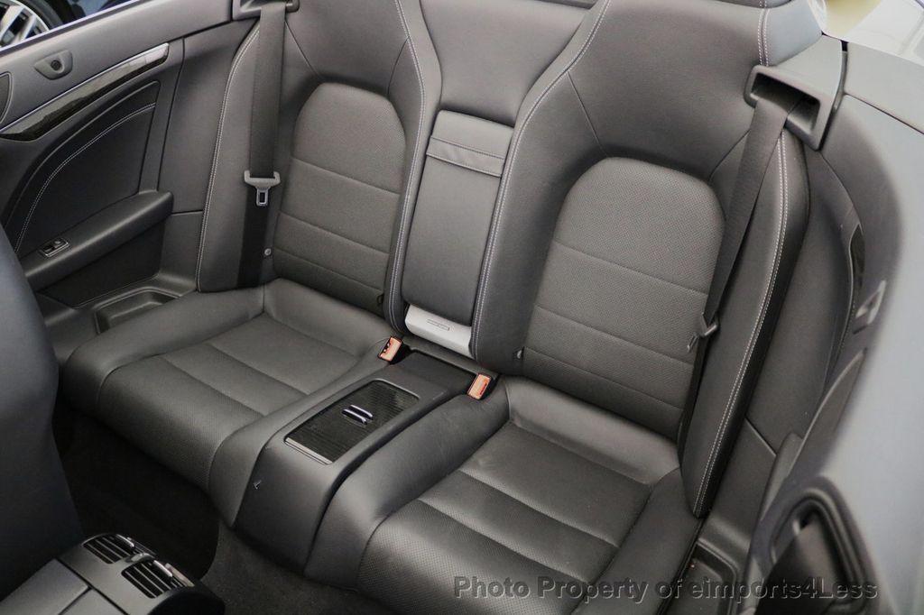 2014 Mercedes-Benz E-Class CERTIFIED E350 AMG Sport Package Convertible - 17334090 - 10