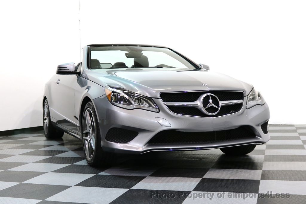 2014 Mercedes-Benz E-Class CERTIFIED E350 AMG Sport Package Convertible - 17334090 - 15