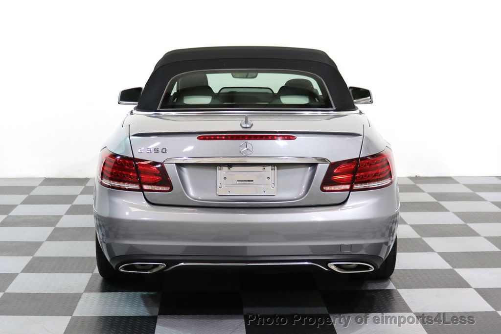 2014 Mercedes-Benz E-Class CERTIFIED E350 AMG Sport Package Convertible - 17334090 - 17