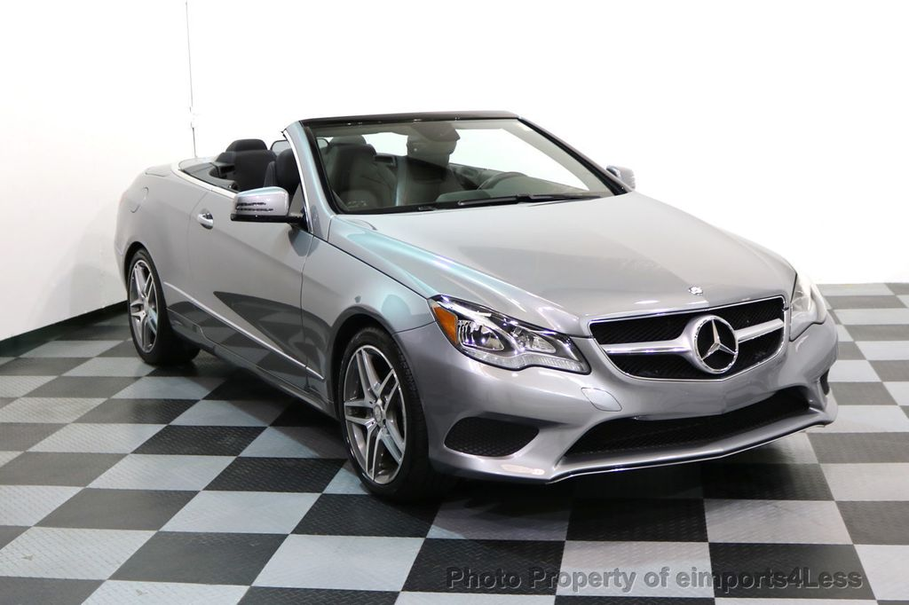 2014 Mercedes-Benz E-Class CERTIFIED E350 AMG Sport Package Convertible - 17334090 - 1