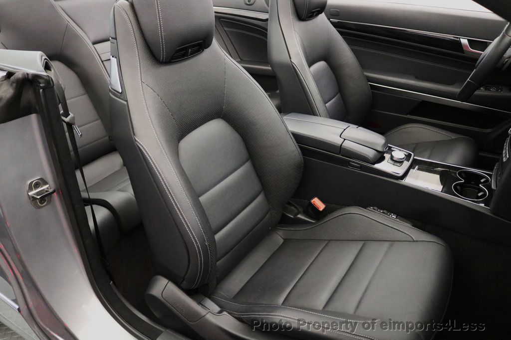 2014 Mercedes-Benz E-Class CERTIFIED E350 AMG Sport Package Convertible - 17334090 - 24