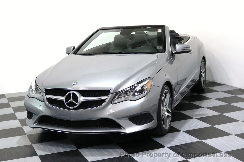 2014 Mercedes-Benz E-Class CERTIFIED E350 AMG Sport Package Convertible - 17334090 - 28