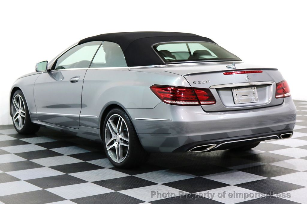 2014 Mercedes-Benz E-Class CERTIFIED E350 AMG Sport Package Convertible - 17334090 - 2