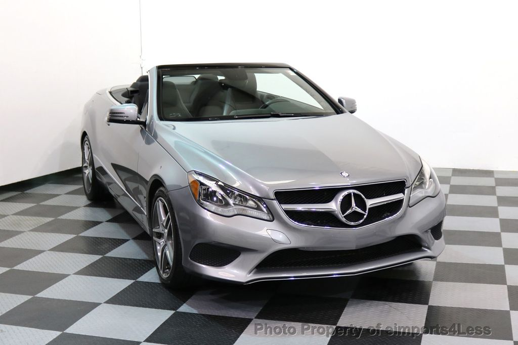 2014 Mercedes-Benz E-Class CERTIFIED E350 AMG Sport Package Convertible - 17334090 - 29
