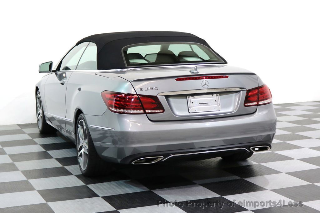 2014 Mercedes-Benz E-Class CERTIFIED E350 AMG Sport Package Convertible - 17334090 - 30
