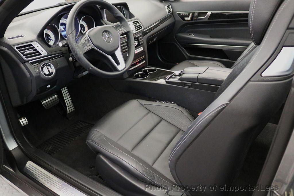 2014 Mercedes-Benz E-Class CERTIFIED E350 AMG Sport Package Convertible - 17334090 - 33