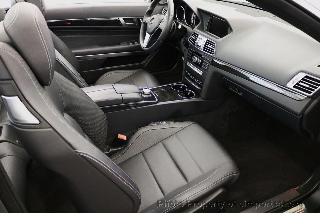 2014 Mercedes-Benz E-Class CERTIFIED E350 AMG Sport Package Convertible - 17334090 - 36