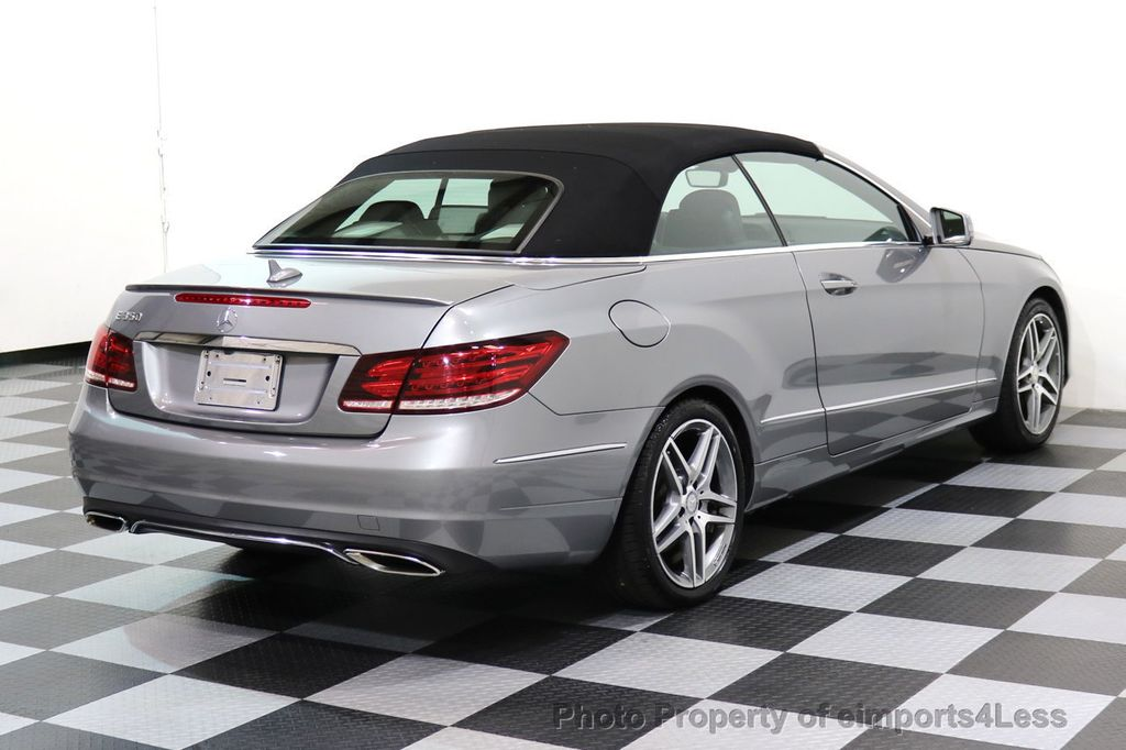 2014 Mercedes-Benz E-Class CERTIFIED E350 AMG Sport Package Convertible - 17334090 - 3
