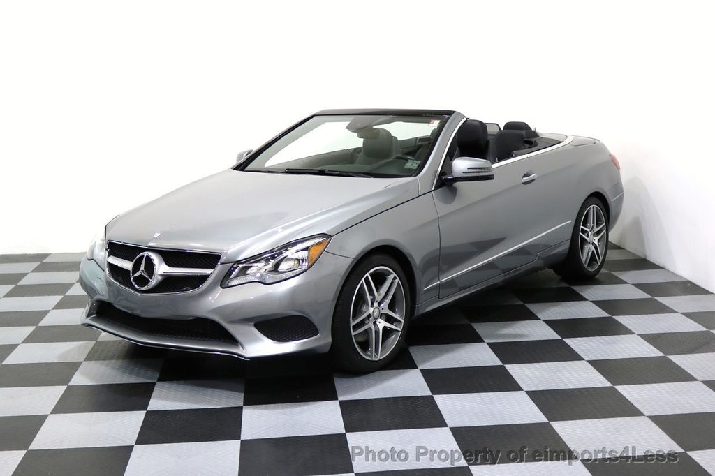 2014 Mercedes-Benz E-Class CERTIFIED E350 AMG Sport Package Convertible - 17334090 - 39