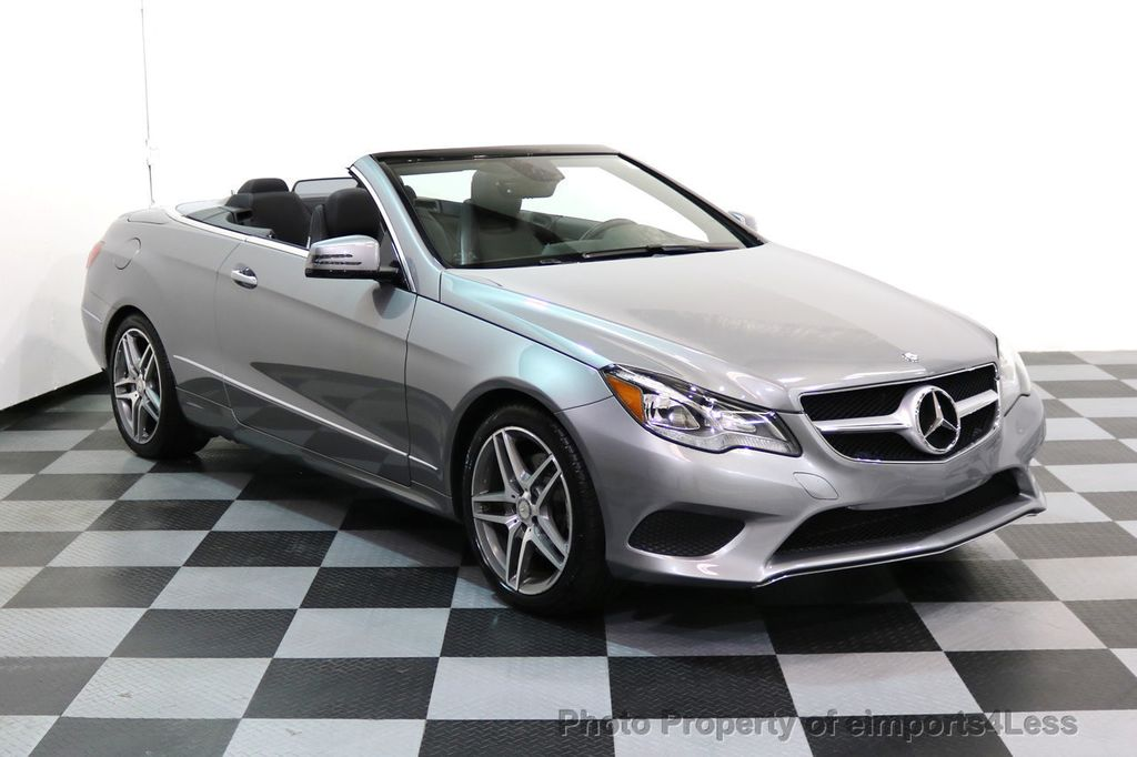 2014 Mercedes-Benz E-Class CERTIFIED E350 AMG Sport Package Convertible - 17334090 - 40