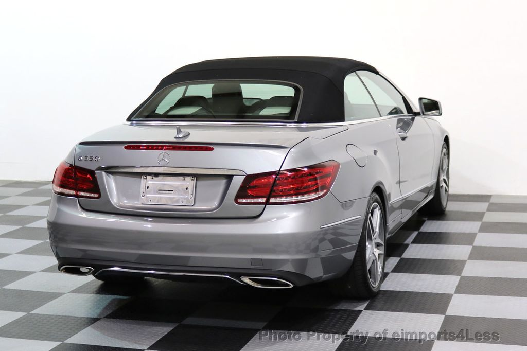2014 Mercedes-Benz E-Class CERTIFIED E350 AMG Sport Package Convertible - 17334090 - 42