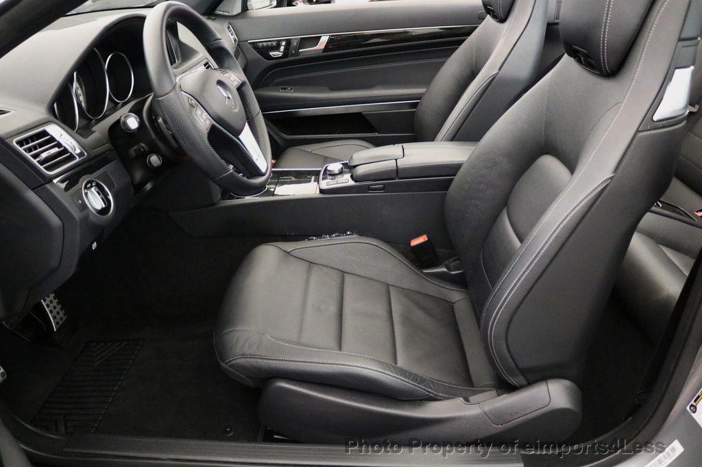 2014 Mercedes-Benz E-Class CERTIFIED E350 AMG Sport Package Convertible - 17334090 - 43