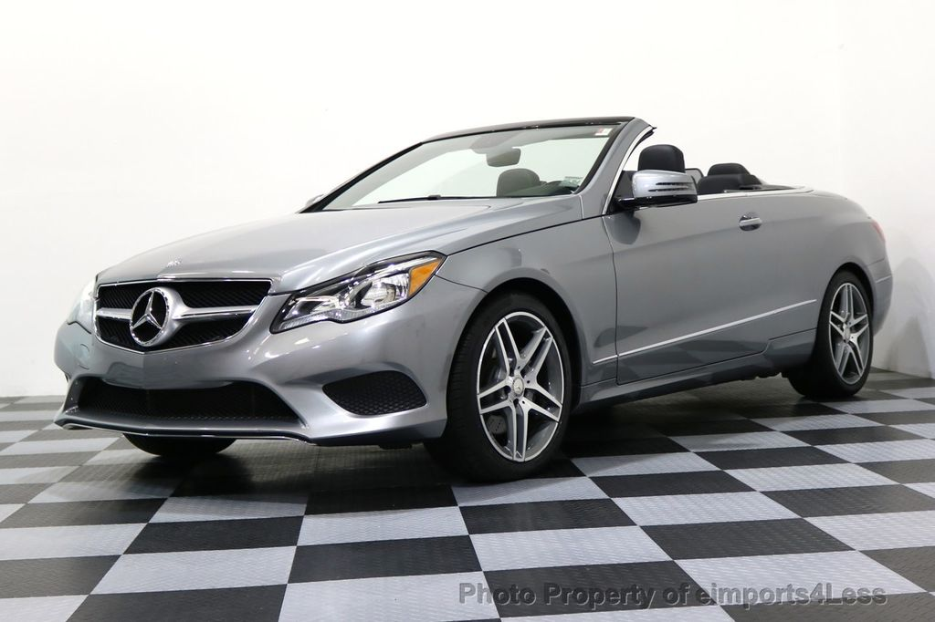 2014 Mercedes-Benz E-Class CERTIFIED E350 AMG Sport Package Convertible - 17334090 - 45