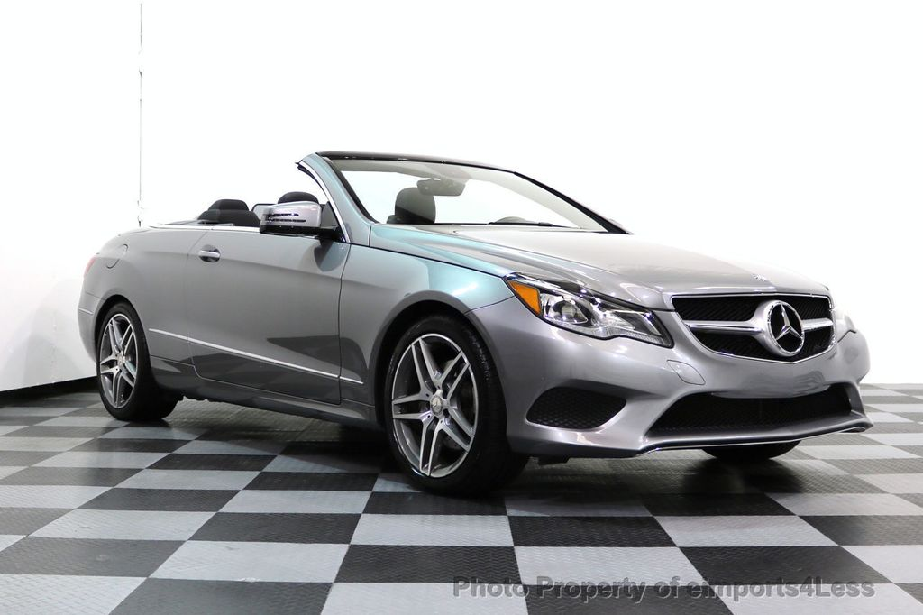 2014 Mercedes-Benz E-Class CERTIFIED E350 AMG Sport Package Convertible - 17334090 - 47