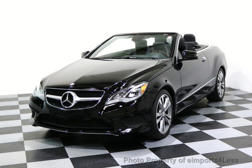 2014 Mercedes-Benz E-Class CERTIFIED E350 Sport Package Cabriolet - 17275679 - 0