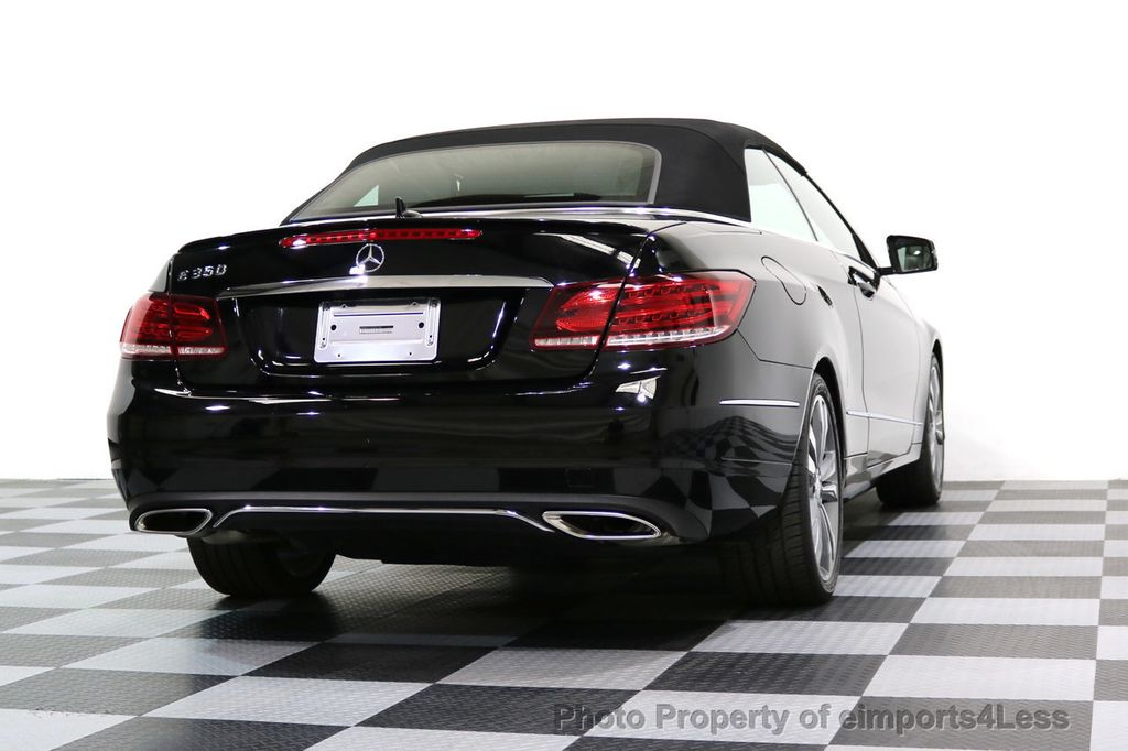 2014 Mercedes-Benz E-Class CERTIFIED E350 Sport Package Cabriolet - 17275679 - 18