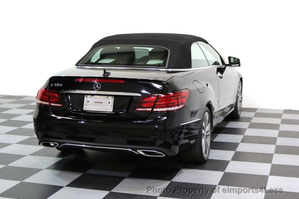 2014 Mercedes-Benz E-Class CERTIFIED E350 Sport Package Cabriolet - 17275679 - 46