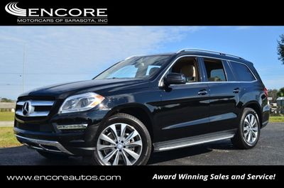 2014 Mercedes-Benz GL-Class 4MATIC 4 Door GL 450 SUV W/P1 and Lane Tracking Packages