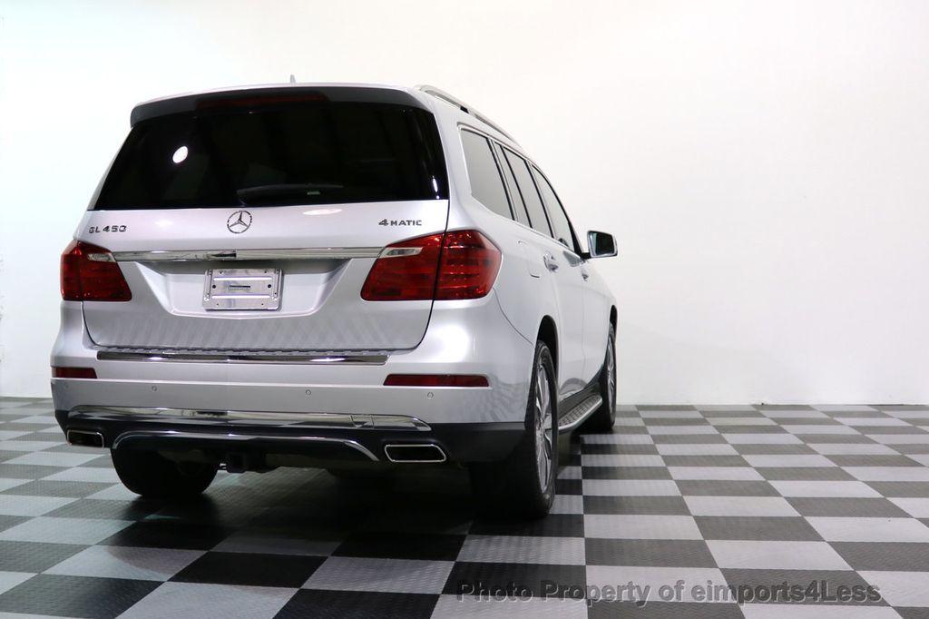 2014 Mercedes-Benz GL-Class CERTIFIED GL450 4Matic AWD PANO 20s BLIND SPOT NAVI - 17179691 - 42