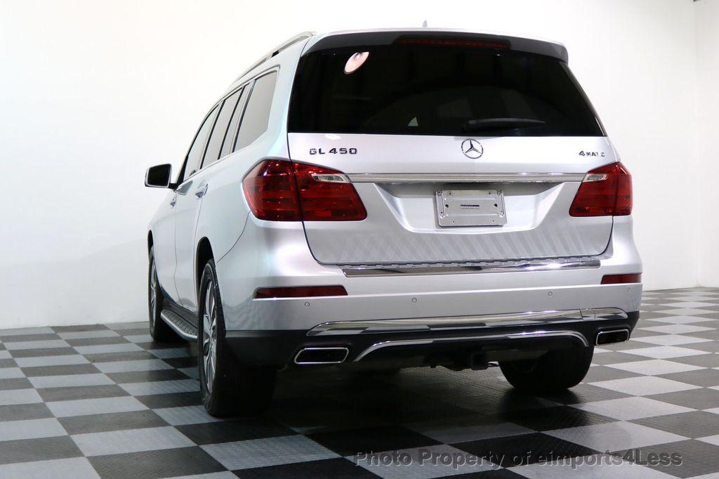 2014 Mercedes-Benz GL-Class CERTIFIED GL450 4Matic AWD PANO 20s BLIND SPOT NAVI - 17179691 - 51
