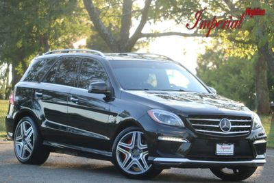 2014 Mercedes-Benz  4MATIC 4dr ML63 AMG - Click to see full-size photo viewer