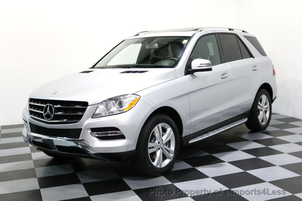 2014 Mercedes-Benz M-Class CERTIFIED ML350 4Matic AWD CAMERA HK NAVI - 17024014 - 0