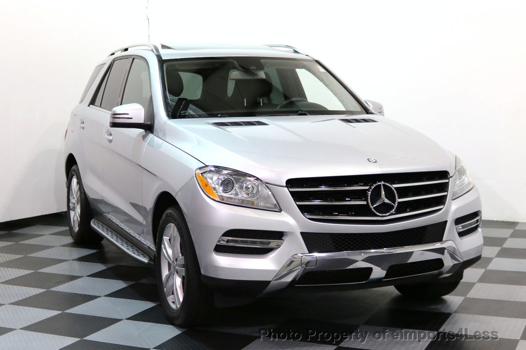 2014 Mercedes-Benz M-Class CERTIFIED ML350 4Matic AWD CAMERA HK NAVI - 17024014 - 1
