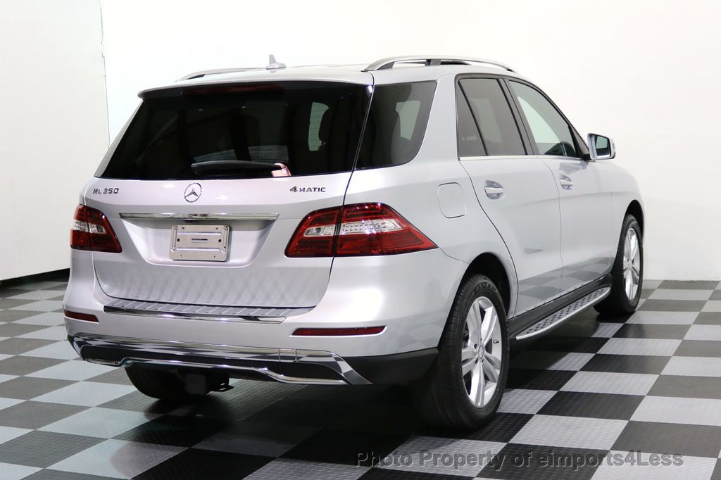 2014 Mercedes-Benz M-Class CERTIFIED ML350 4Matic AWD CAMERA HK NAVI - 17024014 - 30