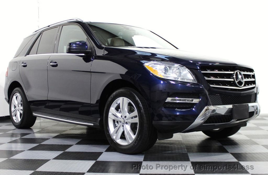 2014 used mercedes benz m class certified ml350 4matic awd for Mercedes benz 2014 ml350
