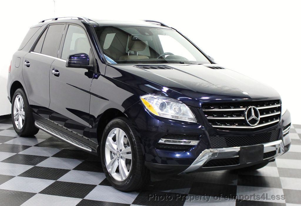2014 used mercedes benz m class certified ml350 4matic awd for Mercedes benz m class ml350