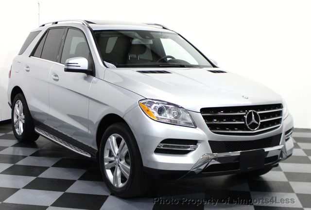 2014 used mercedes benz m class certified ml350 4matic awd suv camera blis navi at. Black Bedroom Furniture Sets. Home Design Ideas