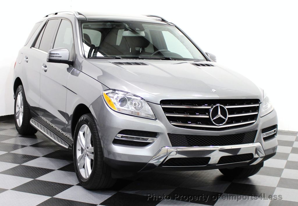 2014 used mercedes benz m class certified ml350 4matic awd suv pano blis navigation at. Black Bedroom Furniture Sets. Home Design Ideas