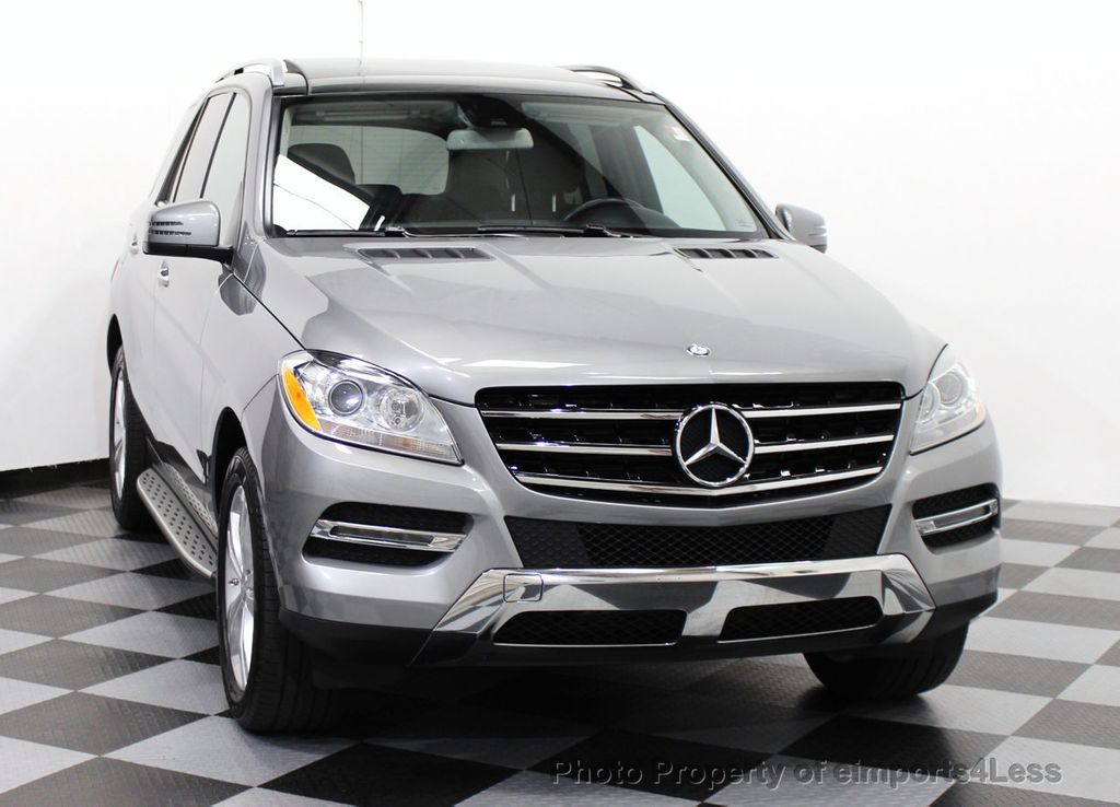 2014 used mercedes benz m class certified ml350 4matic awd for Mercedes benz suv ml350