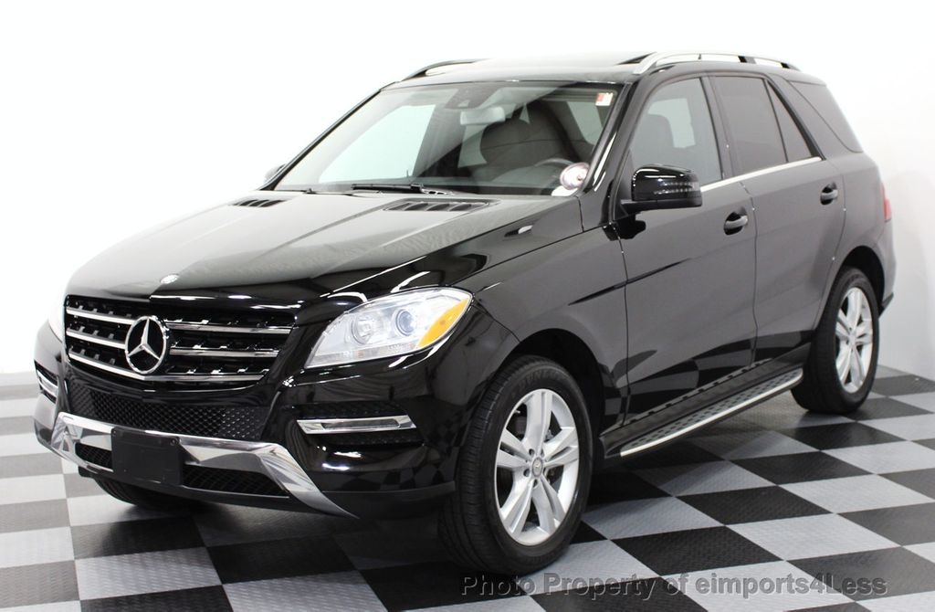 2014 used mercedes benz m class certified ml350 4matic for Mercedes benz bluetec suv